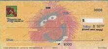 Paper image check animal