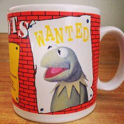 1989 WANTED mug Kermit