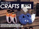 Sesame Street children's clothing patterns