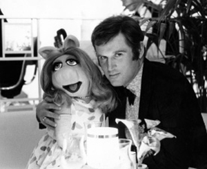 Charles Grodin and Miss Piggy