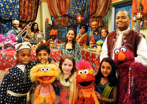 Rahki on Sesame Street 2
