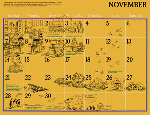 The Sesame Street 1976 Calendar Muppet Wiki Fandom Powered By Wikia