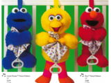 Sesame Street baby toys (Applause)