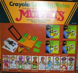 Crayola 1982 coloring plates 2