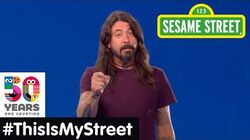 Sesame Street Memory Dave Grohl ThisIsMyStreet