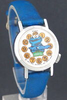 Cookie monster nodding head watch 1978