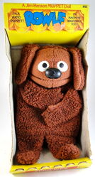 Fisher-price muppet doll rowlf 1