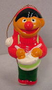 Newcor carolers christmas ornament ernie drummer