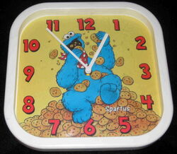 Spartus cookie monster alarm clock