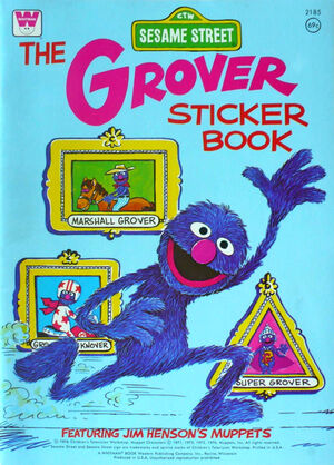 The grover sticker book 2