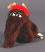 Applause christmas snuffy mini plush