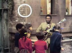BBKing sings alphabet