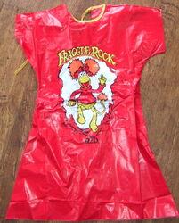 Ben cooper 1985 red fraggle halloween costume