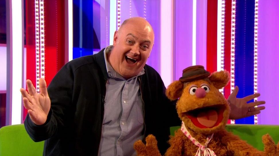 Dara O Briain and Fozzie