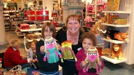 Disney Store Muppets craft event
