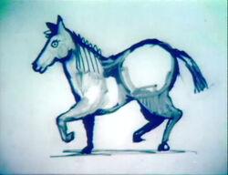 DrawHorse-Blue
