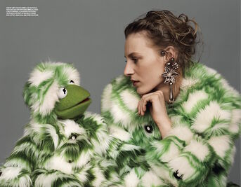 Love magazine Kermit and Julia