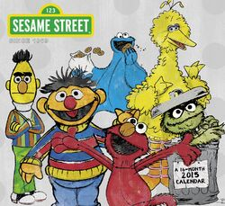Sesame 2015 calendar