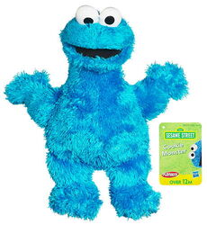 Sesame mini plush cookie monster 2011