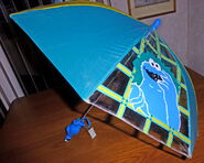 Shaw creations umbrella cookie monster 1