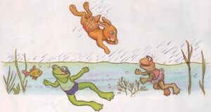 Swimming gang