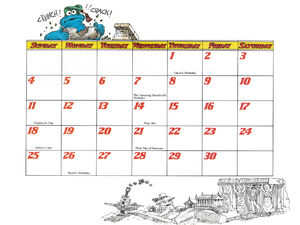1978 calendar 06 June b