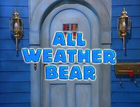 218 All Weather Bear
