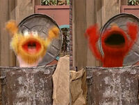 4064 Zoe Elmo trashcan