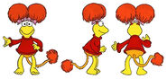 Animated fraggle red