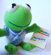 Dakin 1988 mini plush baby kermit muppet babies 1