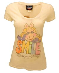 Junk food 2012 piggy t-shirt smile