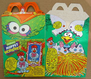 Mcdonalds 1994 muppet workshop happy meal box premium 7