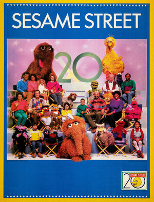 Sesame 20th anniversary poster