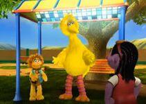 Adventures of Kami and Big Bird screenshot for Animated Big Bird article