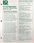 CTW Archives UMD Script Highlights Season 11-12 1421
