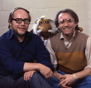 Dennis Lee and Philip Balsam with Traveling Matt