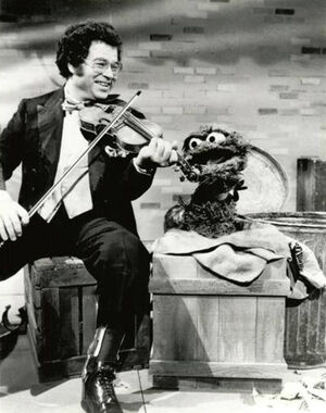 Itzhak Perlman Oscar the Grouch
