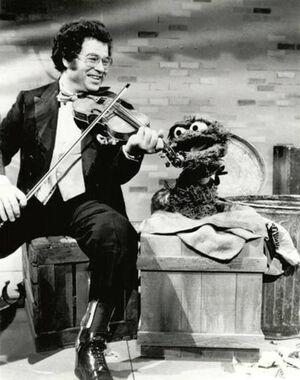 Itzhak Perlman Oscar the Grouch