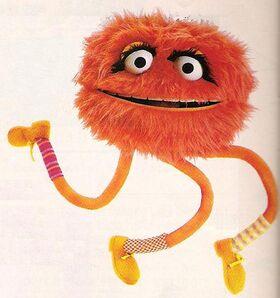 Muppet monster long legs
