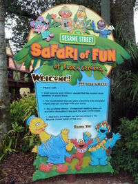 Safari of fun sign