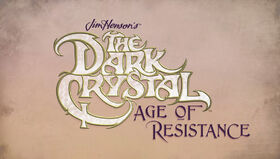 The Dark Crystal Age of Resistance Logo