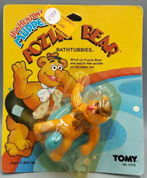 Tomy fozzie bear bathtubbies 2