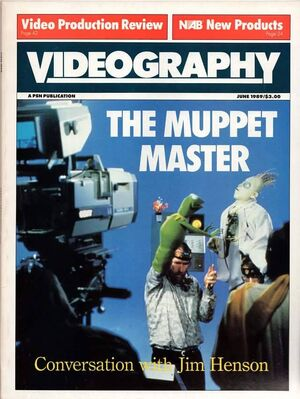 Videography magazine June 1989