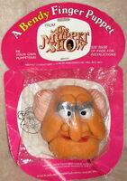 Bendy toys uk 1977 statler finger puppet 1