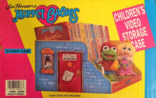 Muppet Babies video storage case 03