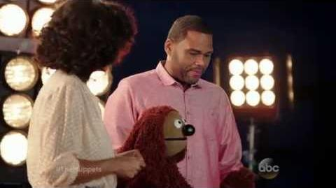Rowlf and Black-ish Cast