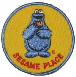 Sesame place patch cookie monster
