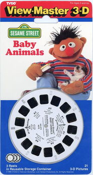 Viewmaster baby animals 1991