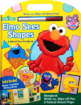 Elmo sees shapes storybook