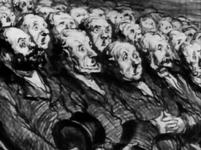Honoré Daumier - Les Spectateurs de l'orchestre 2